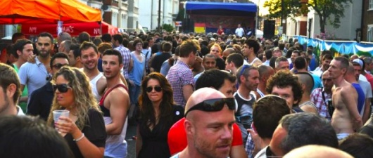 Clapham Street Party, London