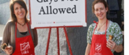 "Salvation Army says ""Gays Need To Be Put to Death"" (from David Volz)"