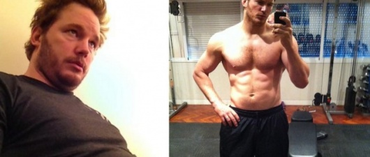 Chris Pratt Loses Fat (Before and After Mass)