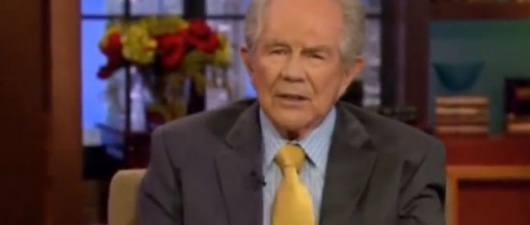 Pat Robertson Claims Gays Deliberately Spread AIDS Using Sharp Jewelry