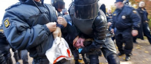 In Russia, 67 Arrested As Orthodox Priests And Skinheads Clash With LGBT Activists