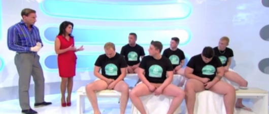 A Rugby Team's Testicle Check (Video)