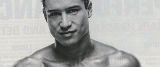 Super Mario! Lopez Shirtless, Sexy, and Sharing Secrets