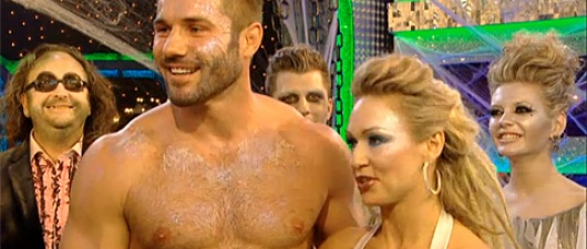 Ben Cohen Dances Shirtless: That Is All!