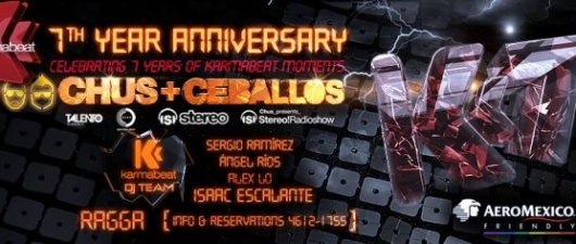 Karmabeat Seven Year Anniversary Party In Mexico City