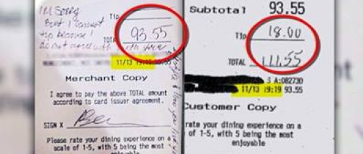Family Says They DID Tip Gay Server (Video)