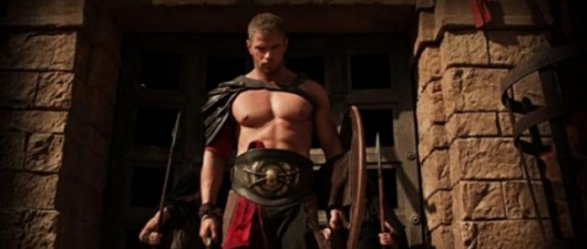 Kellan Lutz In Sexy Shirtless 'Hercules' Trailor