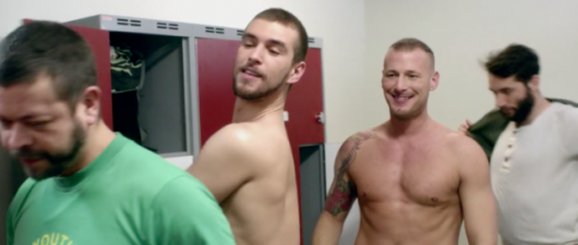 8 Nude Men Wrestle In Jelly To Promote HIV Testing (Video)