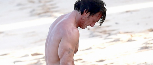 Topless Sean Penn Wins Best Looking Beach Celebrity