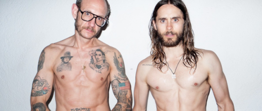 Jared Poses Wet And Nude For Terry Richardson Spread