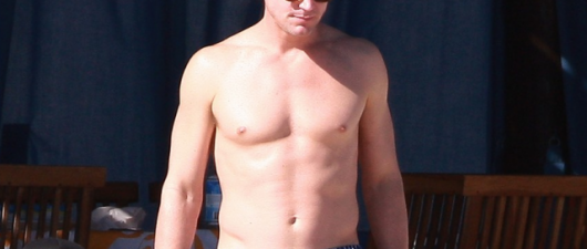 A Shirtless Matt Bomer Will Make Your Stay-Cation Much Better