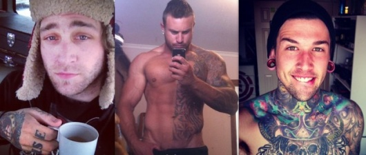 Top 35 Sexy Tattoo Selfies!