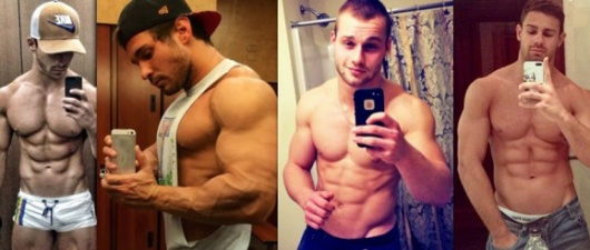 69 Sexy Gym Selfies That'll Make Your Mouth Water!