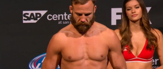 UFC Fighter Kyle Kingsbury 's Butt Has A Message You'll Love