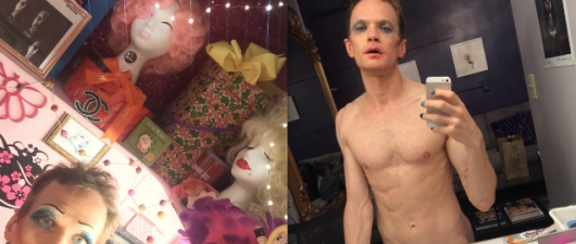 Neil Patrick Harris Shares Naked Backstage Selfie!