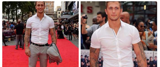 Dan Osborne's Bulge Attends Premiere Event With Dan Osborne