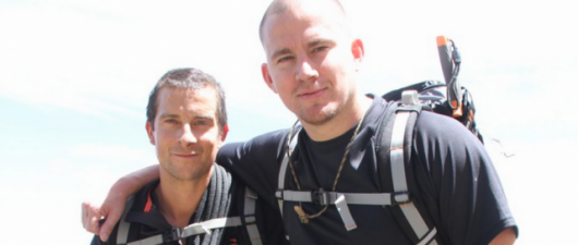 Watch Channing Tatum Remove His Wet Pants For Bear Grylls