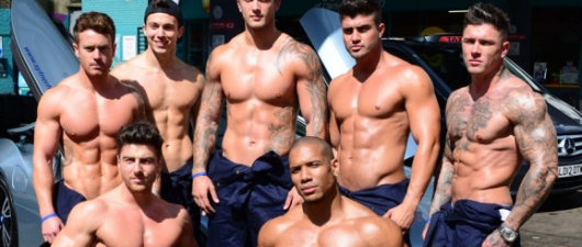 "Dan Osborne Strips With Erotic Male ""Dance"" Troupe For Charity"