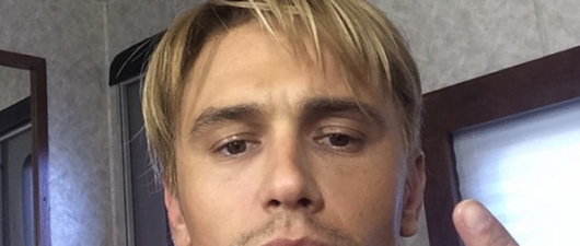 PHOTOS: James Franco Goes Blonde, Joins A Boy Band & Pops Molly
