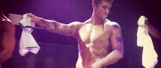 Dan Osborne Makes Stripping Debut, Gets Naked To Jessica Simpson