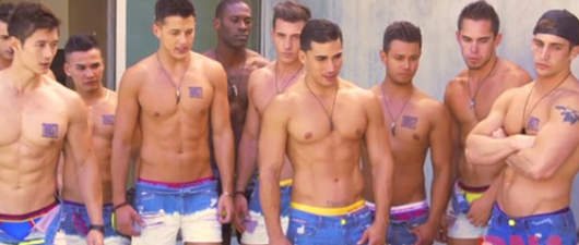 "Andrew Christians Models Get ""Hot And Bothered"""