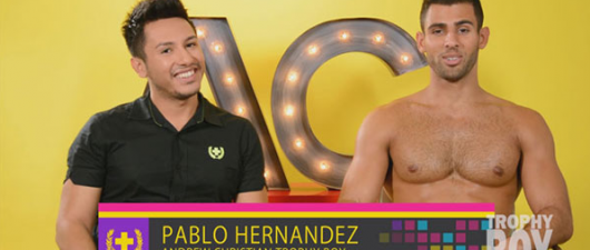Pablo Hernandez Is Put On The Spot With Andrew Christian!