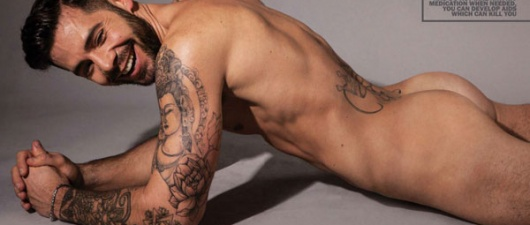 Charlie King Comes Out Of The Closet And Poses Naked!