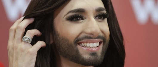 "Conchita Wurst Launches Awesome New Ballad ""Heroes"""