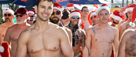 Santa Skivvies Run: San Fran Prepares For The Hottest Run Of The Year!