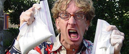 Andy Dick Steals Man's Necklace, Rides Off On Bike, Gets Arrested For Grand Theft
