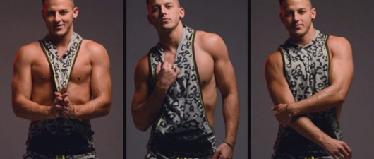Murray Swanby Is On The Prowl With Andrew Christian