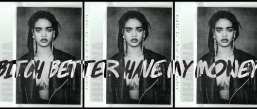 Rihanna FINALLY Premieres 'Bitch Better Have My Money'