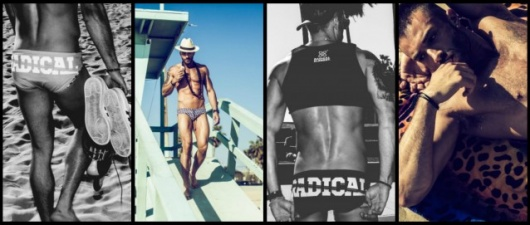 Combust Over Frank Mentier In Radical Element's Editorial