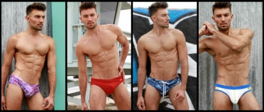 Jared North Stripped Down To His Swim Brief Body