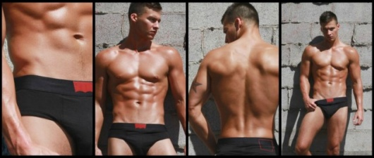 In Love And Lust With The Levi's 200 Series Black Brief