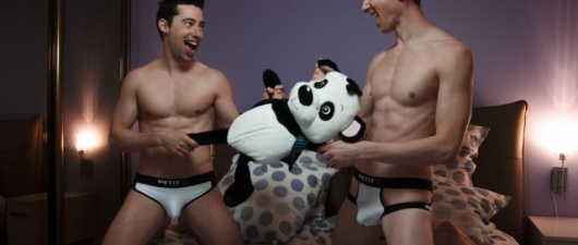 Arthus & Nico: underwear photoshoot